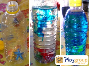 Aquarium bottle for web