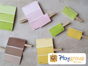 colour matching pegs and paint samples - Copy