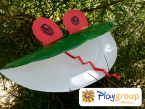 This frog is easy to make and allows for lots of creative play.