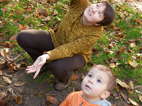 take your toddler out in your backyard for some wonderful play and learning opportunitites