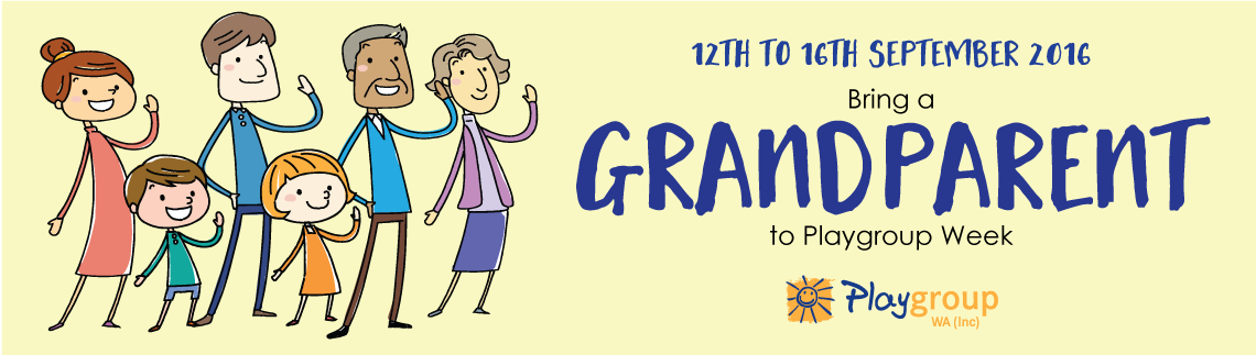 Bring a Grandparent to Playgroup Week & Win!