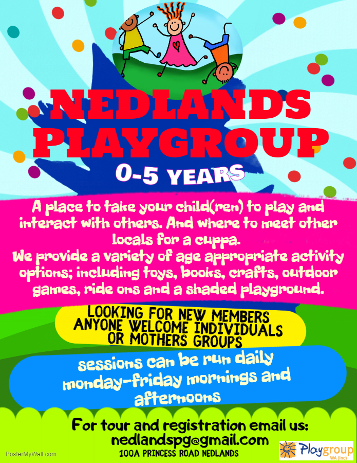 Playgroups looking for New Families | Playgroup WA