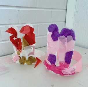 Easter craft idea for young children to do at home or playgroup